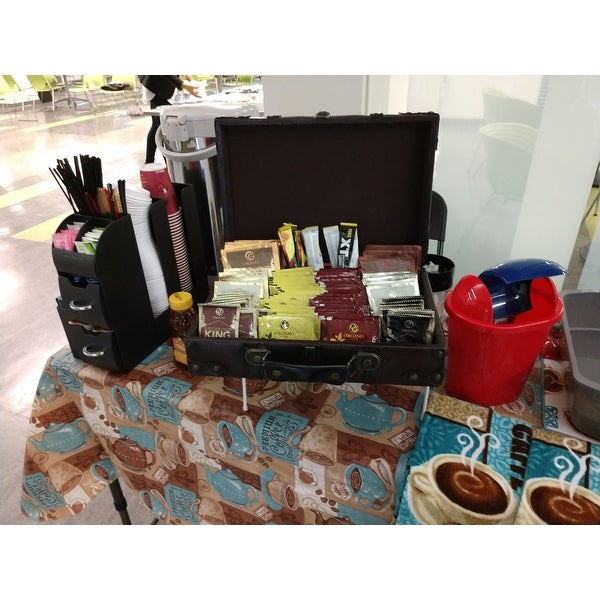 Mind Reader Black Coffee Condiment Organizer Caddy Free Shipping On Orders Over 45 7516722