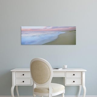 Easy Art Prints Panoramic Image 'Surf on beach, Playa La Cachora, Todos Santos, Baja California Sur, Mexico' Canvas Art