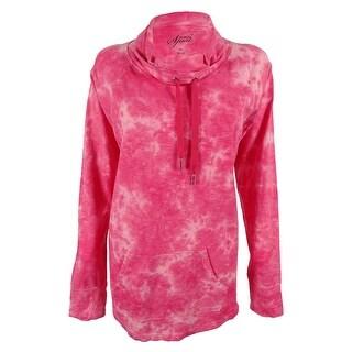Style & Co. Women's Long Sleeves Tie Dye Sweatshirt
