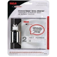 Discwasher RCARD1142M Cd/dvd Laser Lens Cleaners 2-brush: Wet