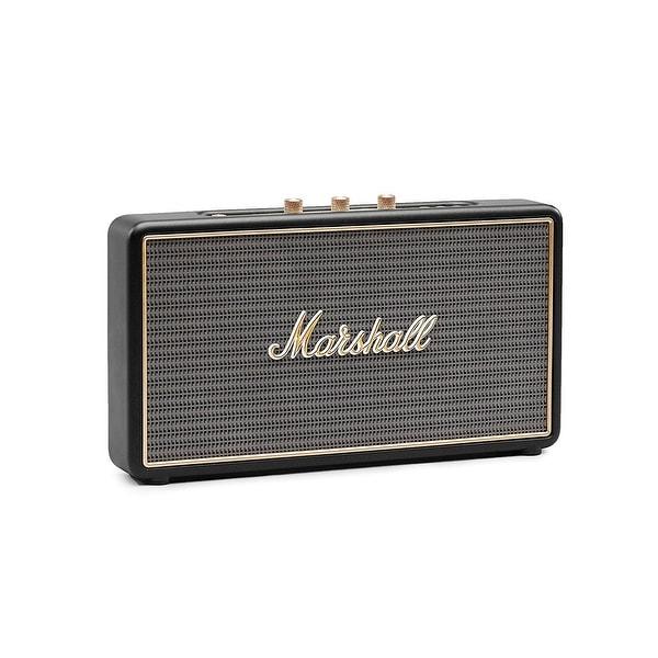 Marshall Bluetooth Speaker Portable: Shop Marshall Stockwell Portable Bluetooth Speaker, Black 4091390