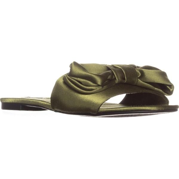 ZiGi Valiant Flat Slide Sandals, Army Green