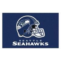 NFL Seattle Seahawks Ulti-Mat Rectangular Area Rug