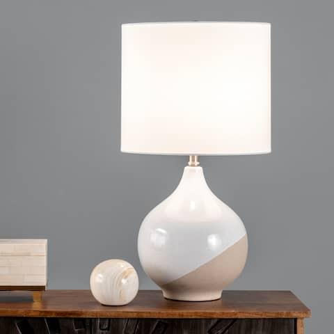"nuLOOM Alora 24"" Ceramic Table Lamp - 13""W x 13""D x 24""H"