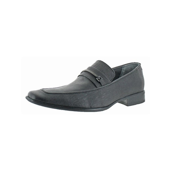 Calvin Klein Mens Bowery Loafers Lightly Padded Slip On - 8 medium (d)