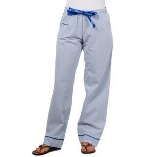 boxercraft Ladies Seersucker Pajama/Dorm Pant With Satin Trim