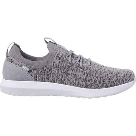 Reef Women's Cruiser Knit Sneaker Light Grey/White Knit