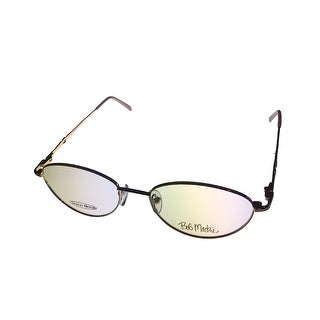 Bob Mackie Mens Eyeglass Opthamlic Metal Gold Oval BM136 198 - Medium