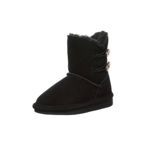 """Bearpaw Outdoor Boots Girls 4 1/2"""" Shaft Rosaline NeverWet"""
