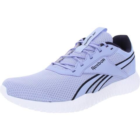 Reebok Womens Flexagon Energy TR 2.0 Sneakers Fitness Gym - Lilac Glow/Proud Purple/White - 9.5 Medium (B,M)
