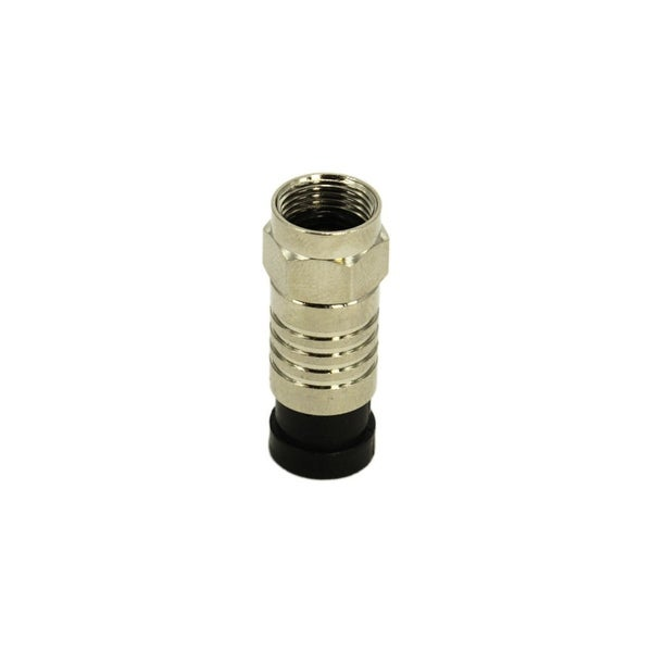 RG59 Compression F Connector, Copper