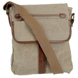 CargoIT Women's Cotton Canvas Crossbody Bag - One size
