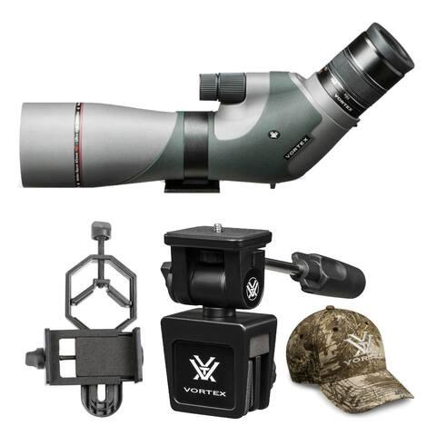 Vortex Razor HD 16-48x65 Angled Spotting Scope with Smartphone Adapter