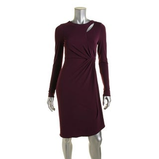 CATHERINE CATHERINE MALANDRINO Womens Gordon Long Sleeves Cocktail Dress
