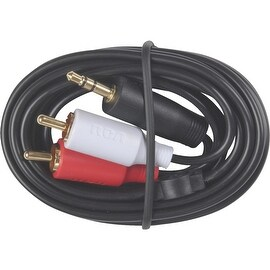 RCA 3' Y Stereo Cable Plug