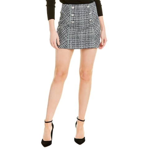 Veronica Beard Plaid Mini Skirt