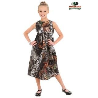 Child Mossy Oak Camo Flower Girl Dress