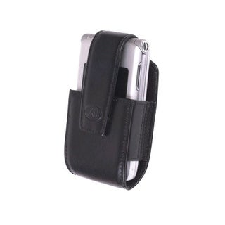 Milante Bruna Belt Clip Leather Pouch - Universal (Black)
