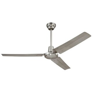 "Westinghouse 7861400 Industrial 56"" 3 Blade Industrial Indoor Ceiling Fan with Blades and Down Rod Included"
