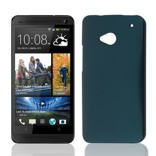 Unique Bargains Green Hard Shell Protective Phone Back Case Cover for HTC One M7