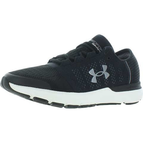 Under Armour Mens Speedform Gemini Vent Running Shoes Fitness Workout - Black