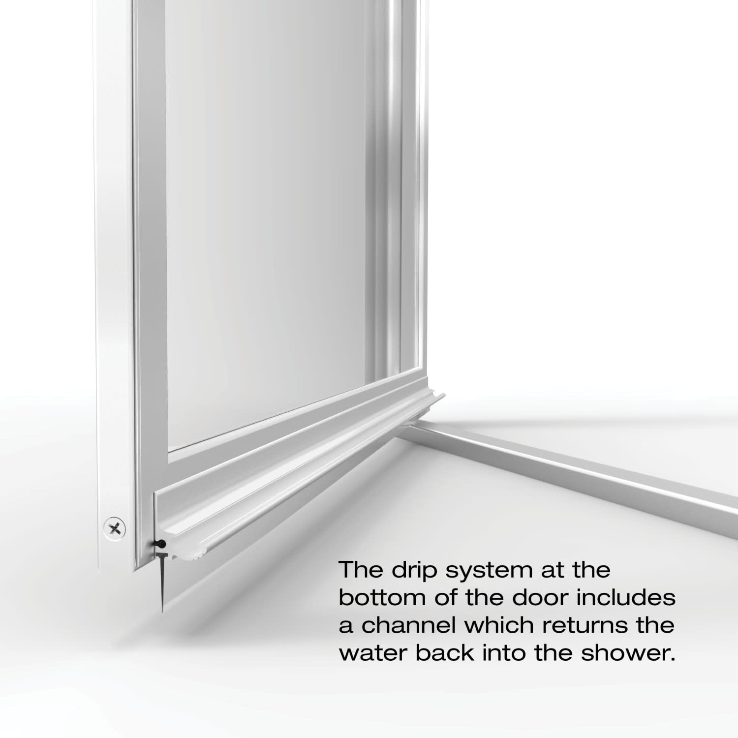 Basco A002 7xp Deluxe 67 High X 32 7 8 Wide Pivot Framed Shower Door With Aquaglidexp Clear Glass