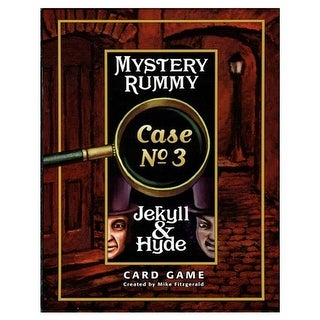 US Games Systems USGMR300 Mystery Rummy - Jekyll & Hyde