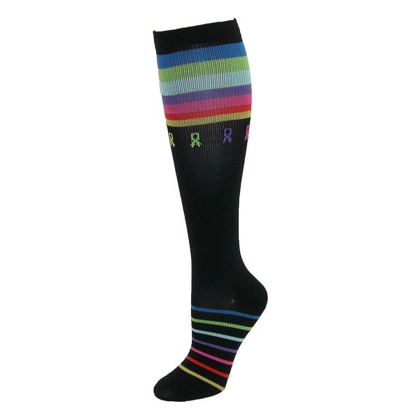 Think Medical Women's Multi Ribbon Compression Sock