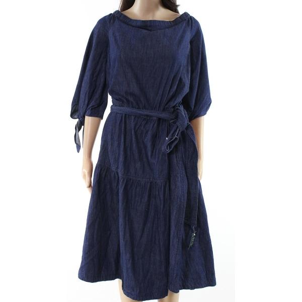Lauren By Ralph Lauren Women's Denim Shift Dress