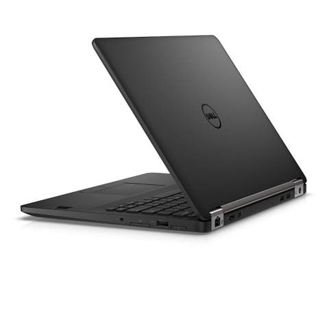 Dell Latitude E7470 14.0-in Refurb Laptop - Intel i5 6300U 6th Gen 2.4 GHz 8GB 180GB SSD Win 10 Pro - Webcam, Touchscreen