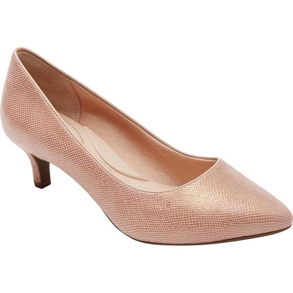 Rockport Women's Total Motion Kalila Dress Pump, Pink, Size 7.0