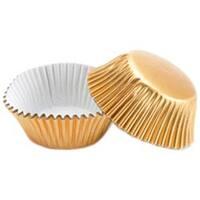 Gold Foil 36/Pkg - Mini Baking Cups