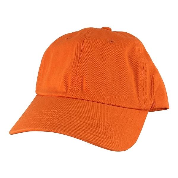 CapRobot Slouch Unstructured Adjustable Hat StrapbackDad Cap Orange