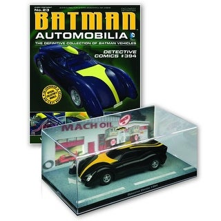Batman Automobilia Collection Detective Comics #394 Batmobile w/ Magazine #23 - Multi
