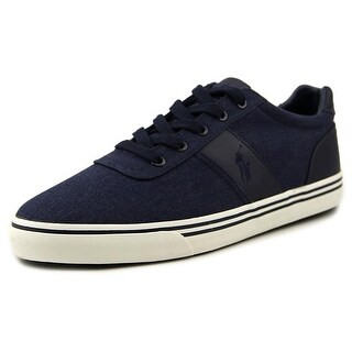Polo Ralph Lauren Hanford Men Round Toe Canvas Blue Fashion Sneakers