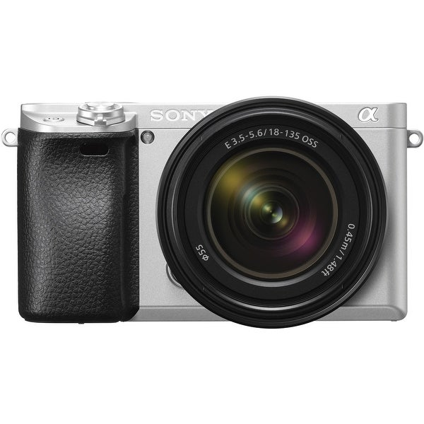 Sony α6300 Mirrorless Digital Camera (Silver) with 18-135mm Lens