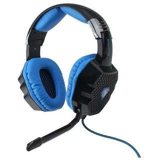 Sades A70 USB Gaming Headset Over the Ear 7.1 Sound Effect Glittering Light 6 Color W/Mic