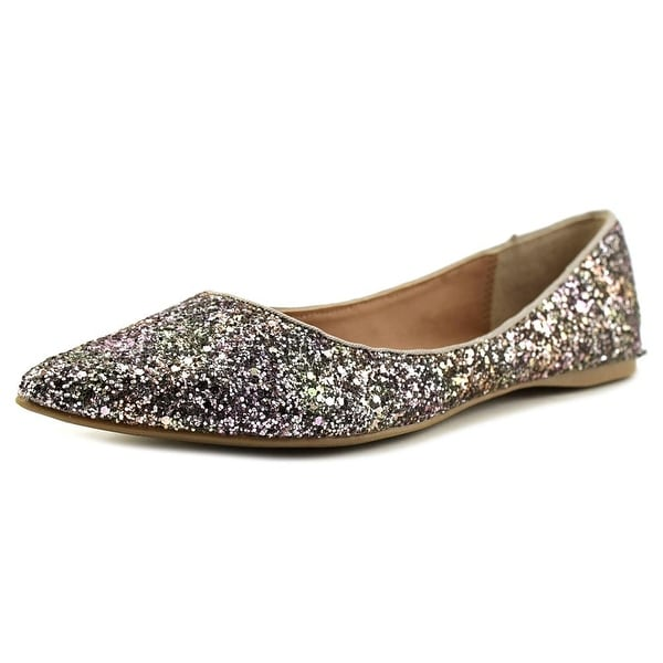 Steve Madden Haanna Women Pointed Toe Synthetic Multi Color Flats