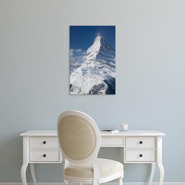 Easy Art Prints Walter Bibikow's 'The Matterhorn' Premium Canvas Art