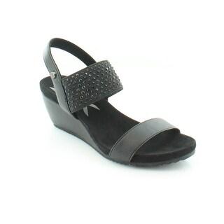 Anne Klein Castie Women's Sandals & Flip Flops Black