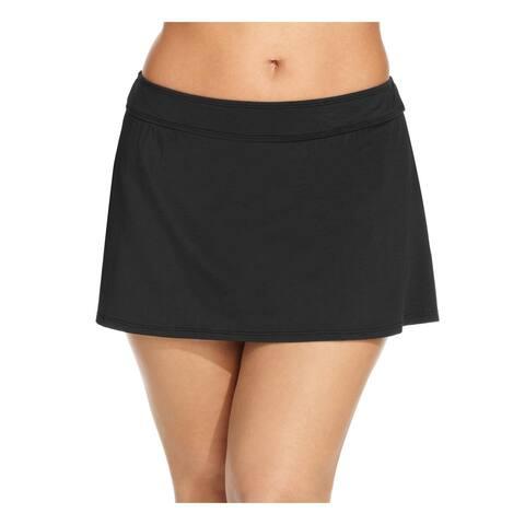 Anne Cole Womens Plus Skirtini Slimming Swim Skirt