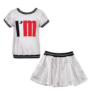 Richie House Girls' Sports Set with Skirt