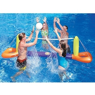 Water Sports Inflatable Floating Splash Volleyball Game for the Swimming Pool