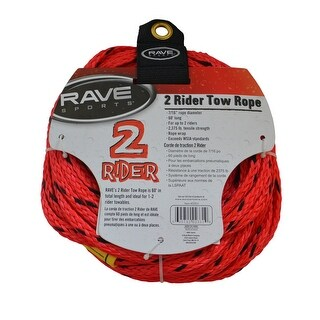 Rave sports rave 2 rider tow rope 02331