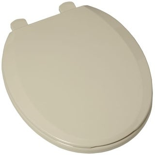american standard 5259b65c plastic round toilet seat and cover includes slow close and