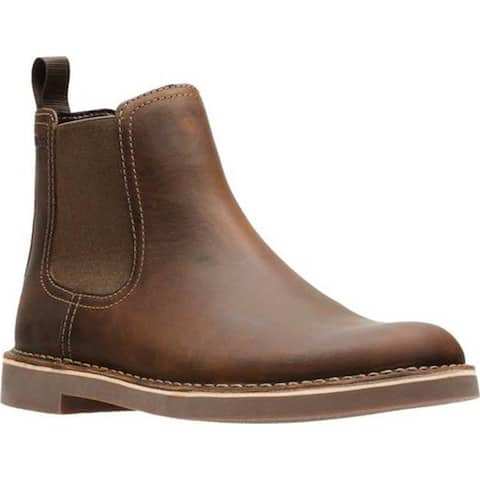 Clarks Men's Bushacre Hill Chelsea Boot Beeswax Leather