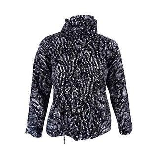 Grace Elements Women's Scuba Anorek Jacket L, Black/White