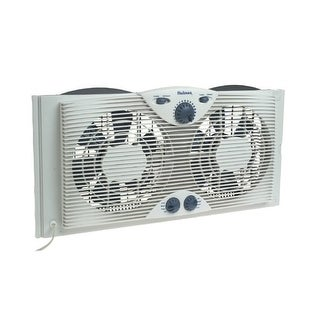 Jarden Hawf2041-N Holmes Dual Blade Window Fan With Comfort Control Thermostat