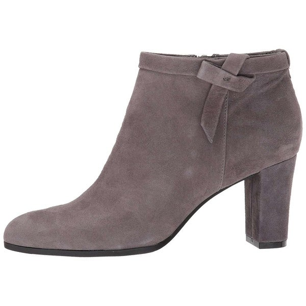 Bandolino Womens Belluna Leather Closed Toe Ankle Fashion Boots - 7