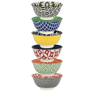 Link to Certified International Soho Individual Porcelain Bowls (Set of 6) Similar Items in Dinnerware